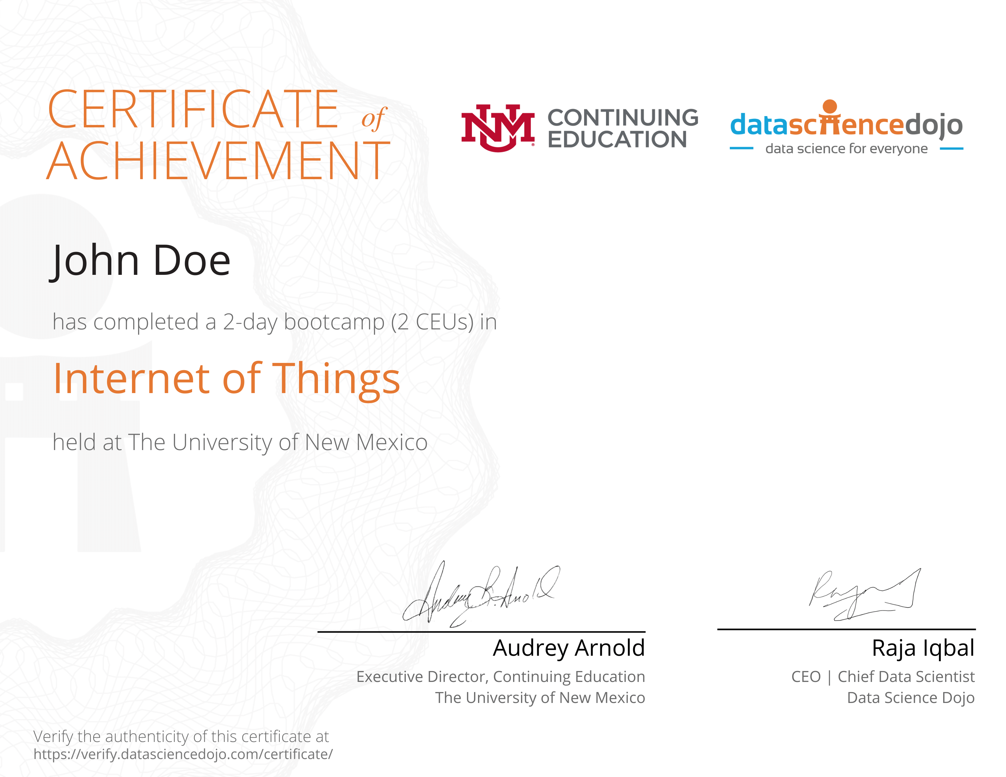 Copy of Actual Size Of Certificate 3 » Data Science Dojo
