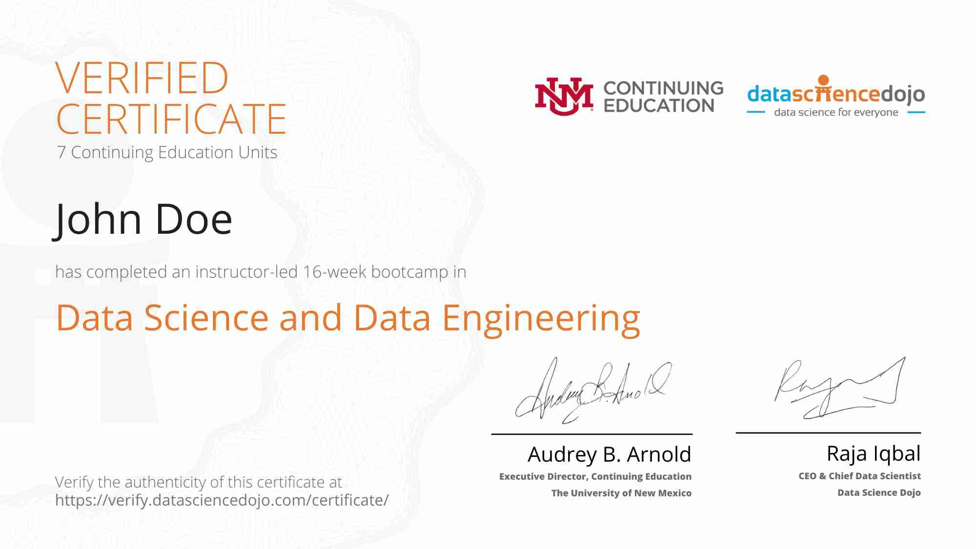 DSCerfificate 1 » Data Science Dojo